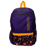 American Tourister Polyester Backpack Hoola 3 Purple