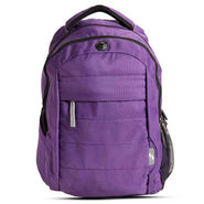 American Tourister Nylon Backpack Cyber 3 Purple