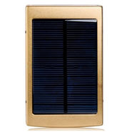 Callmate Power Bank Solar LED 13000 mAh - Golden
