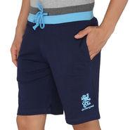 Chromozome Regular Fit Shorts For Men_10292 - Navy