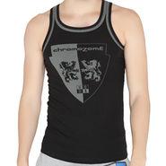 Chromozome Regular Fit Vest For Men_10574 - Black