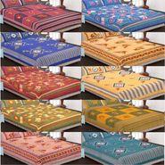Set of 10 Cotton King Size Jaipuri Sanganeri Printed  Bedsheets and 20 Pillow Covers-10B90X108C1