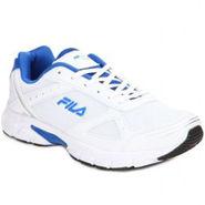 Fila Mesh White R Blue Sport Shoes -fl03
