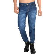 Holister Slim Fit Cotton Jeans For Men_oh3 - Blue