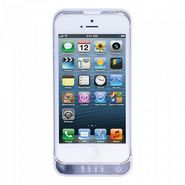 Envent POWER5 Battery Boost Case with Back Stand for iPhone 5 - White