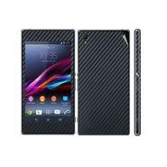 Snooky Mobile Skin Sticker For Sony Xperia Z1 - Black