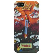 Snooky Designer Soft Back Case Cover For Apple Iphone 5 - Multicolour