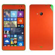 Snooky Mobile Skin Sticker For Microsoft Nokia Lumia 535 20734 - Orange