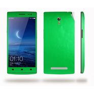 Snooky Mobile Skin Sticker For OPPO Find 7 X9076 20879 - Green