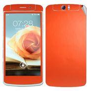Snooky Mobile Skin Sticker For OPPO N1 20900 - Orange