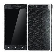 Snooky Mobile Skin Sticker For OPPO R5 20921 - Black
