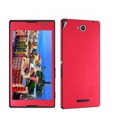 Snooky Mobile Skin Sticker For Sony Xperia C S39h 20805 - Red
