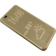 Flashmob C213FC Smart Interactive Flip Cover for HTC D820 - Golden