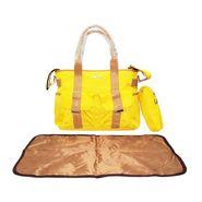 Wonderkids Yellow Fancy Baby Diaper Bag_BK-1239-YFDB
