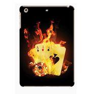 Snooky Digital Print Hard Back Case Cover For Apple iPad Mini 23779 - Black