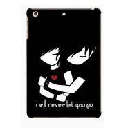 Snooky Digital Print Hard Back Case Cover For Apple iPad Mini 23821 - Black