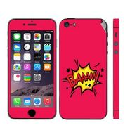 Snooky 28356 Digital Print Mobile Skin Sticker For Apple Iphone 5 - Pink