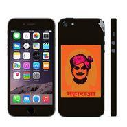 Snooky 28368 Digital Print Mobile Skin Sticker For Apple Iphone 5 - Black