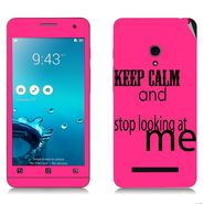 Snooky 27644 Digital Print Mobile Skin Sticker For Asus Zenfone 5 A501CG - Pink