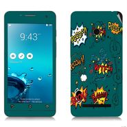 Snooky 27645 Digital Print Mobile Skin Sticker For Asus Zenfone 5 A501CG - Green