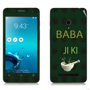 Snooky 27663 Digital Print Mobile Skin Sticker For Asus Zenfone 5 A501CG - Green