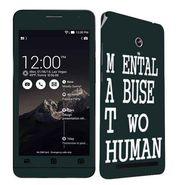 Snooky 27667 Digital Print Mobile Skin Sticker For Asus Zenfone 6 A600CG/A601CG - Multi