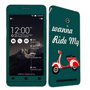 Snooky 27670 Digital Print Mobile Skin Sticker For Asus Zenfone 6 A600CG/A601CG - Multi