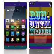 Snooky 27746 Digital Print Mobile Skin Sticker For Gionee Elife E6 - Multi