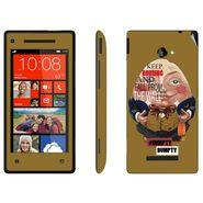 Snooky 28168 Digital Print Mobile Skin Sticker For HTC 8X C620E - Multi