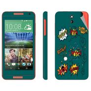Snooky 28080 Digital Print Mobile Skin Sticker For HTC Desire 610 - Green