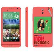 Snooky 28089 Digital Print Mobile Skin Sticker For HTC Desire 610 - Multi