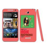 Snooky 28199 Digital Print Mobile Skin Sticker For HTC Desire 616 - Multi