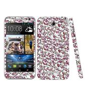 Snooky 28209 Digital Print Mobile Skin Sticker For HTC Desire 616 - Multi