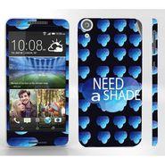Snooky 28117 Digital Print Mobile Skin Sticker For HTC Desire 820 - Blue