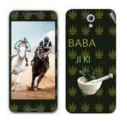 Snooky 28235 Digital Print Mobile Skin Sticker For HTC Desire 820 mini - Green