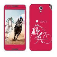 Snooky 28223 Digital Print Mobile Skin Sticker For HTC Desire 820 mini - Pink