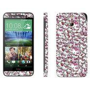 Snooky 28263 Digital Print Mobile Skin Sticker For HTC One E8 - Multi