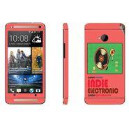 Snooky 28280 Digital Print Mobile Skin Sticker For HTC One M7 - Multi