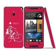 Snooky 28304 Digital Print Mobile Skin Sticker For HTC One mini - Pink