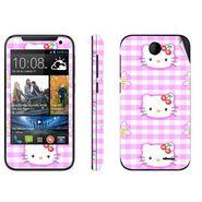 Snooky 38912 Digital Print Mobile Skin Sticker For HTC Desire 310 - Pink