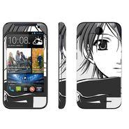 Snooky 38918 Digital Print Mobile Skin Sticker For HTC Desire 310 - Gray