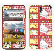 Snooky 39090 Digital Print Mobile Skin Sticker For Lenovo A850 - Pink