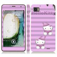 Snooky 39127 Digital Print Mobile Skin Sticker For Lenovo K860 - Purple