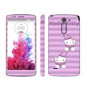Snooky 39151 Digital Print Mobile Skin Sticker For LG G3 Stylus - Purple