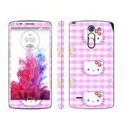 Snooky 39152 Digital Print Mobile Skin Sticker For LG G3 Stylus - Pink