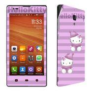 Snooky 39211 Digital Print Mobile Skin Sticker For Xiaomi Redmi 1s - Purple