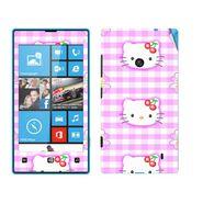 Snooky 39236 Digital Print Mobile Skin Sticker For Nokia Lumia 520 - Pink