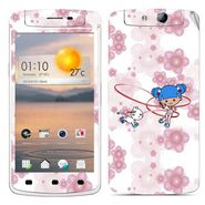 Snooky 39364 Digital Print Mobile Skin Sticker For OPPO N1 Mini - White