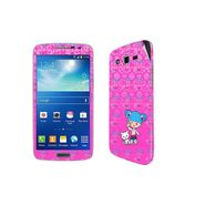 Snooky 39459 Digital Print Mobile Skin Sticker For Samsung Galaxy Grand 2 G7102 - Pink