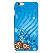 Snooky 35231 Digital Print Hard Back Case Cover For Apple iPhone 6 - Blue